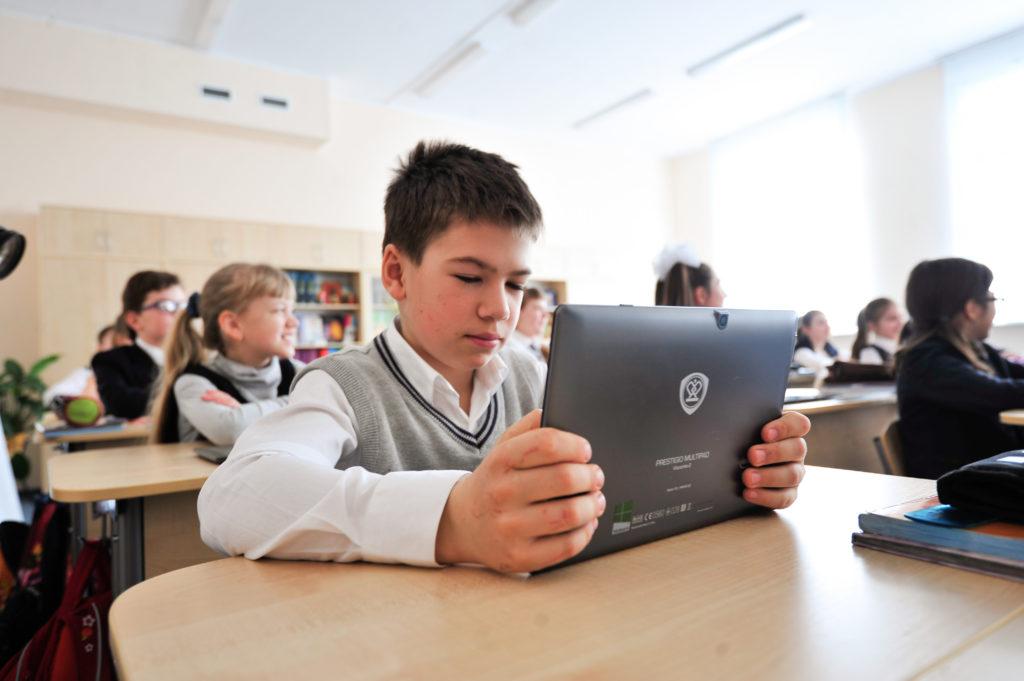 Сайты трех московских школ стали лучшими в России. Фото: Пелагия Замятина