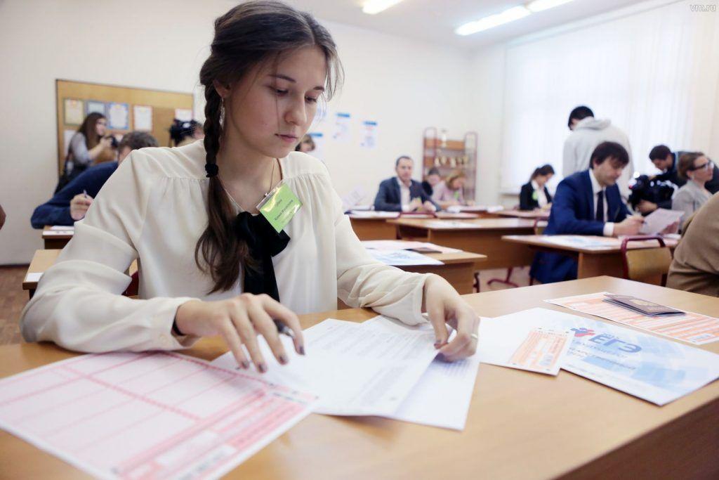 Идея достаточно интересная. Хотя бы потому, что при сдаче Единого госэкзамена будет использоваться значительно меньше бумаги Фото: Анна Иванцова, «Вечерняя Москва»