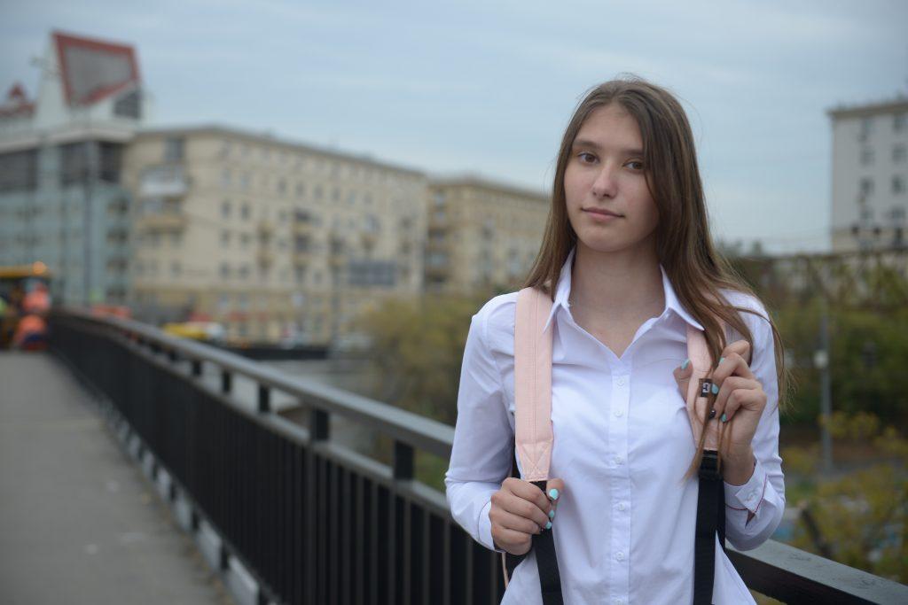 Победительница конкурса «Прессы в образовании» Диана Шарабанова. Фото: Наталья Феоктистова