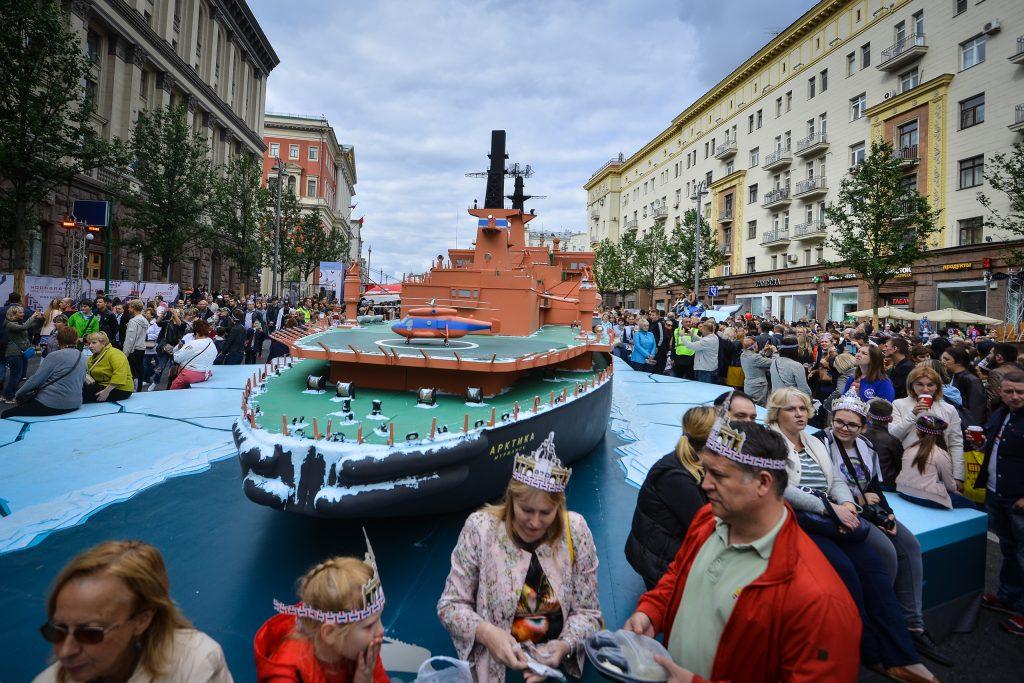 День города - любимый праздник москвичей. Фото: Александр Кожохин