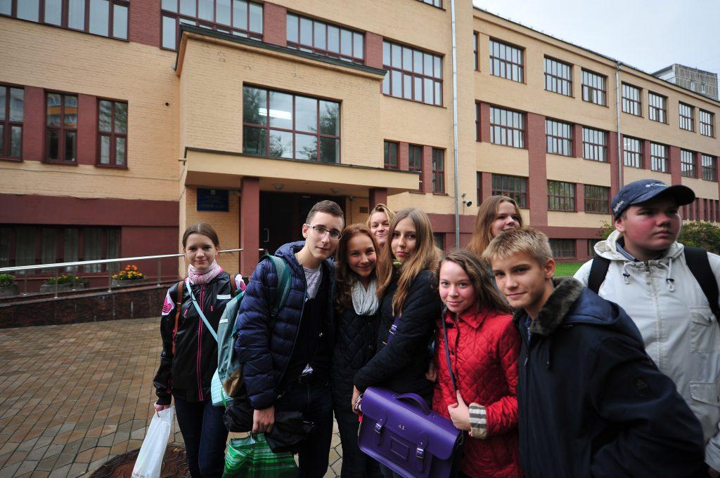 Школа № 1535 возглавила рейтинг лучших школ. Фото: Александр Казаков