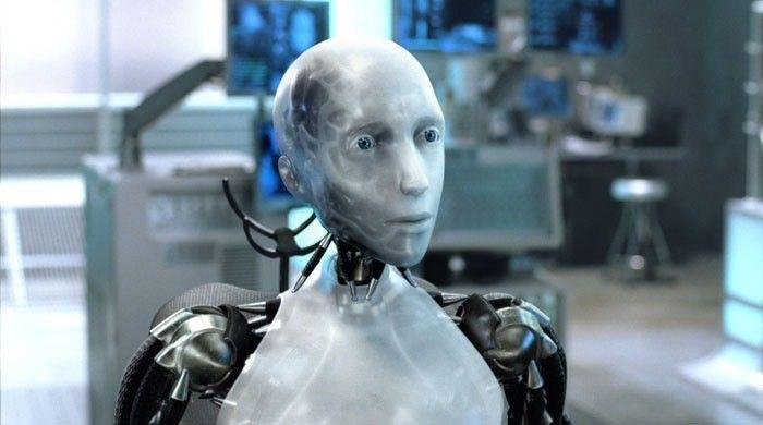 Кадр из фильма «Я, робот», 2004