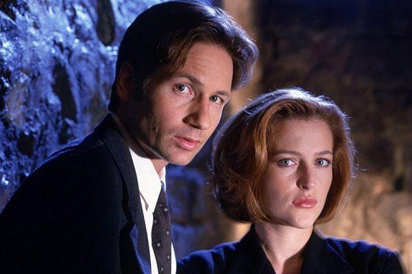 Кадр из телесериала «Секретные материалы», 1993