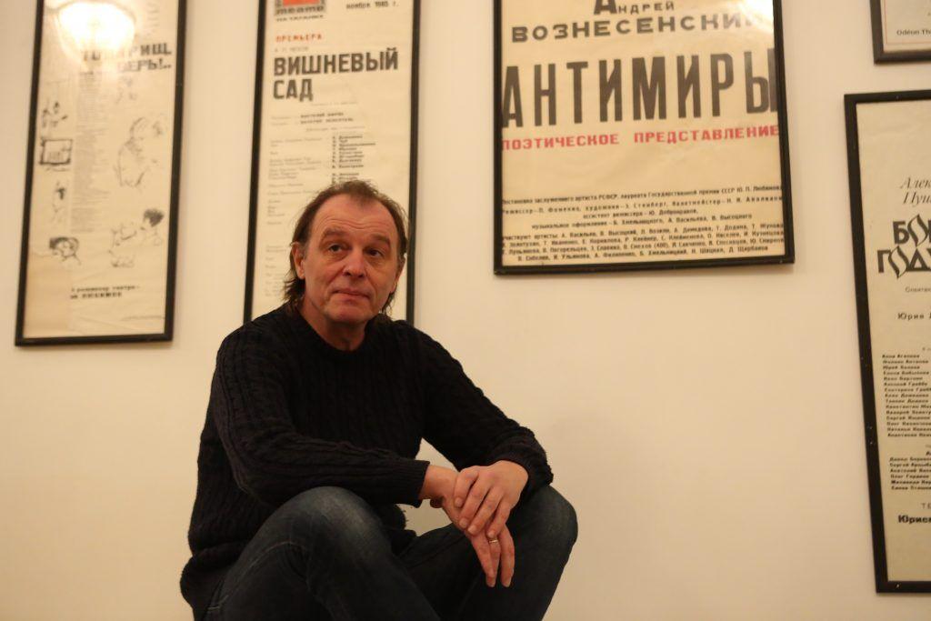 Заведующий труппой Театра на Таганке Сергей Трифонов делится секретами профессии. Алексей Орлов,