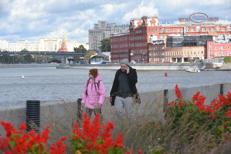 Набережная Москва реки. Александр Кожохин,