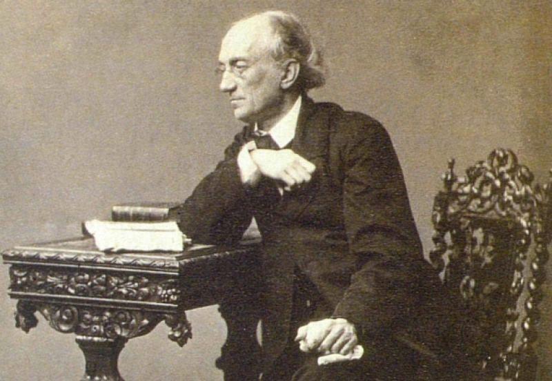 Ф. И. Тютчев. 1860—1861 гг. Фотография С. Л. Левицкого. Wikipedia / Общественное достояние