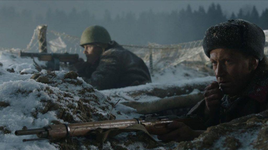 Кадр из фильма «28 панфиловцев», 2016