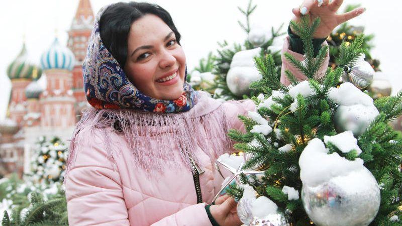 Московский Фестиваль «Путешествие в Рождество». На фото Петелина Мария. Наталия Нечаева,
