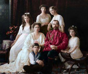 В ГОД 100-ЛЕТИЯ СОБЫТИЙ 1918 ГОДА в Школе 1512 состоялось открытие выставки малоизвестных материалов о Царской семье