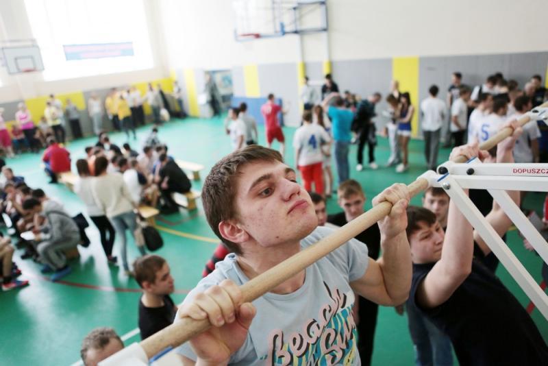 Школьники Юго-Восточного округа сдают нормативы ГТО в школе №469. Анна Иванцова,