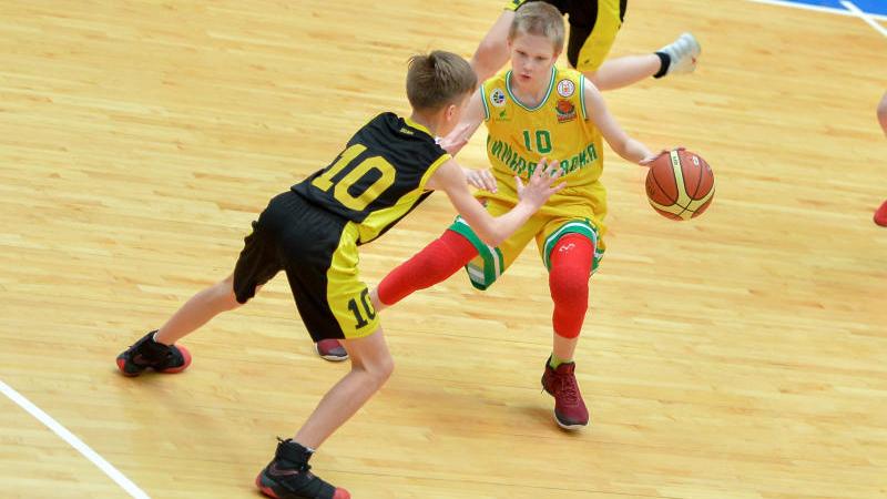 Турнир по баскетболу. Иван Водопьянов.