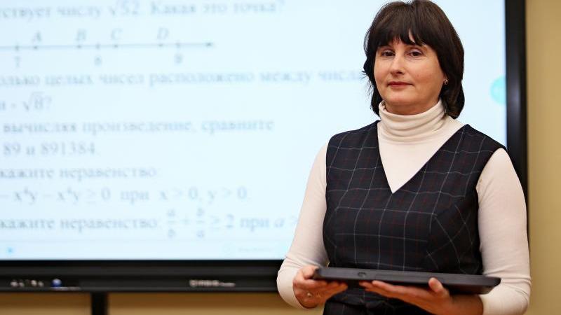 Учительница математики Екатерина Шмакова. Школа 37. Антон Гердо, «Вечерняя Москва»