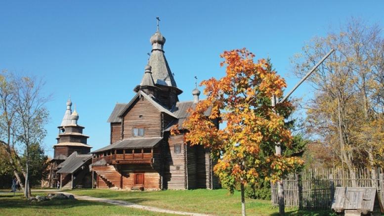 Музей деревянного зодчества «Витославлицы» в Великом Новгороде. http://novgorodmuseum.ru
