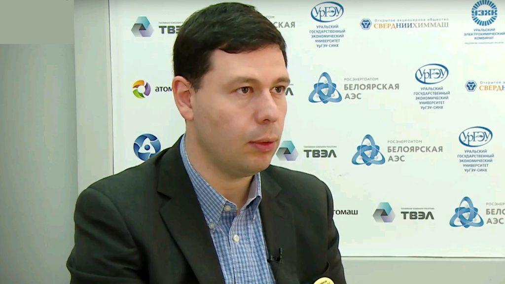 Владимир Пахомов. Скриншот видео с Youtube-канала EktbTV