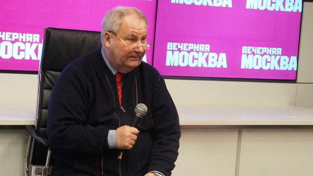 Первый заместитель главного редактора «Российской газеты» Юрий Лепский. Элина Масимова,