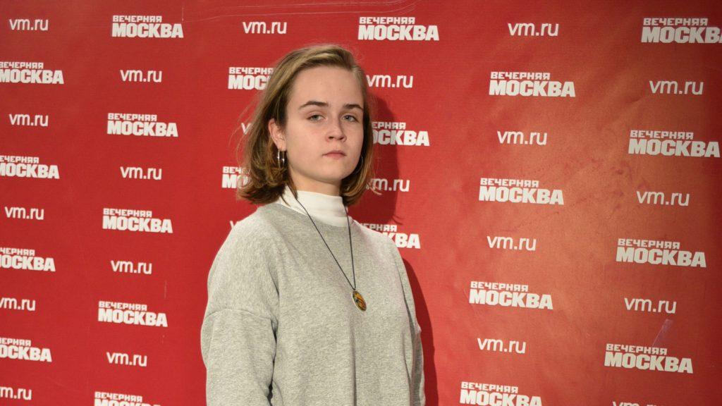 Мария Хохлова, юный корреспондент «Вечерней Москвы»