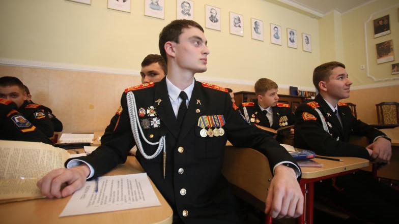За призовые места боролись более 500 кадетских классов. Антон Гердо,
