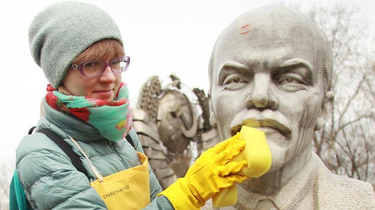 Оля Колючкина участвует в акции