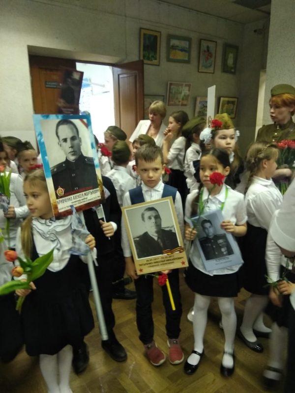 Великий праздник День Победы в школе 1239