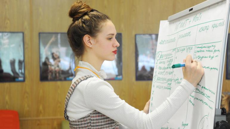 Студентка Финансового университета Анна Бем. Светлана Колоскова, «Вечерняя Москва»