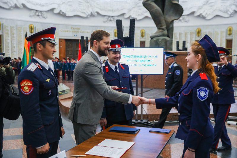 Около 700 казаков получили дипломы в Музее Победы