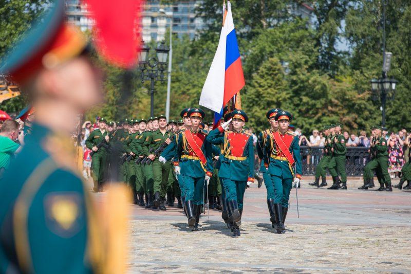 Более 800 новобранцев приняли военную присягу в Музее Победы