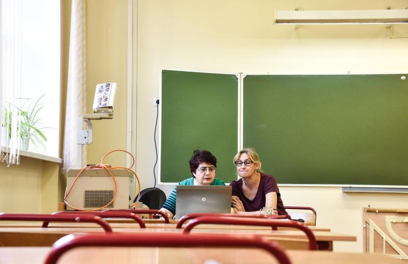 Учителя дают нам главные в жизни советы. Фото: Ирина Хлебникова