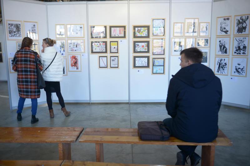Международный фестиваль книжной иллюстрации и визуально литературы «Морс». Наталья Феоктистова, «Вечерняя Москва»