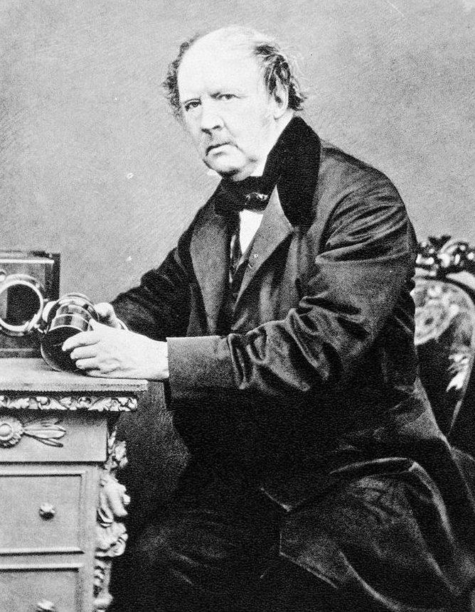 Фото изобретателя калотипии Фокса Тальбота / Wikipedia, Общественное достояние