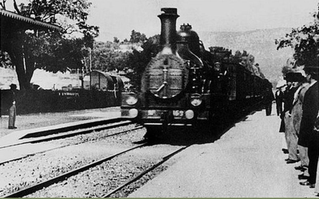 Кадр из «Прибытия поезда»