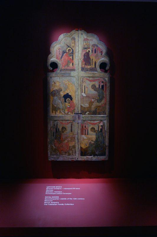 Царские врата XV века / Дмитрий Киселев, «Вечерняя Москва»