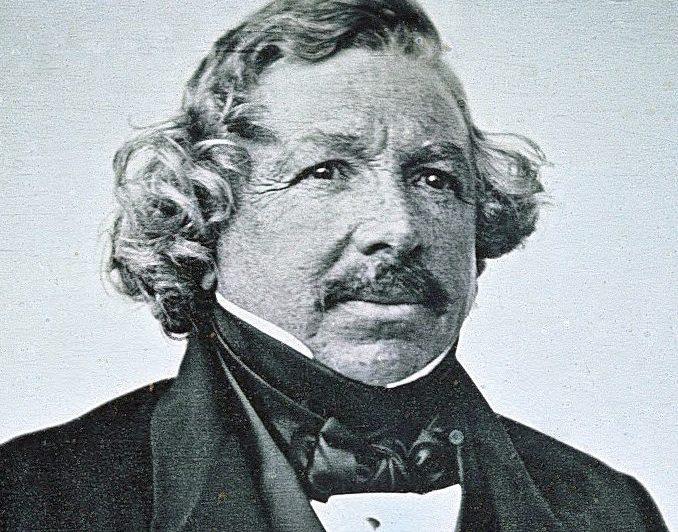 Изображение изобретателя дагеротипии Луи Жака Манде Дагера / Wikipedia, Общественное достояние