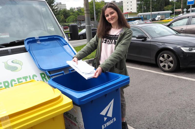 Москва уже постепенно переходит на раздельный сбор мусора / Павел Волков , «Вечерняя Москва»