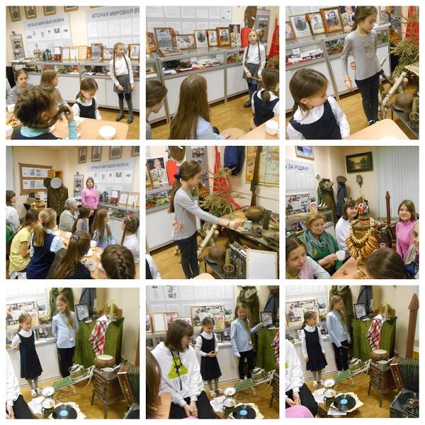 «БАБУШКИНЫ ПОСИДЕЛКИ» в школьном музее