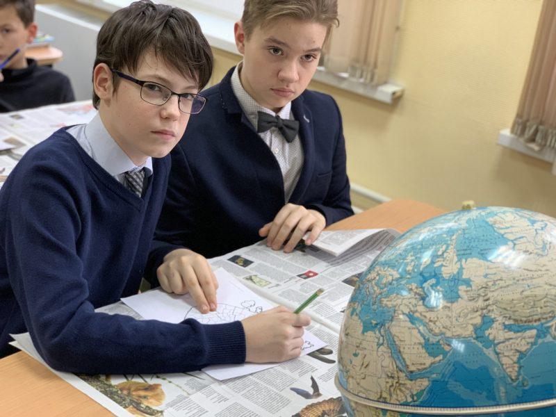 Исследование фауны родного края на Уроке с газетой в Школе 1512