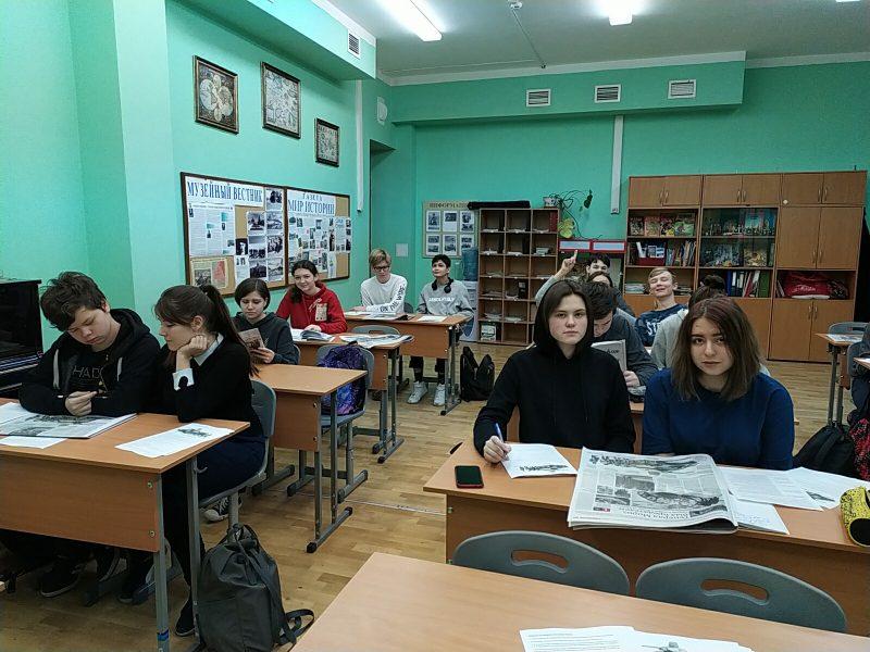 ГБОУ Школа №1164: Рассказ о Московской битве