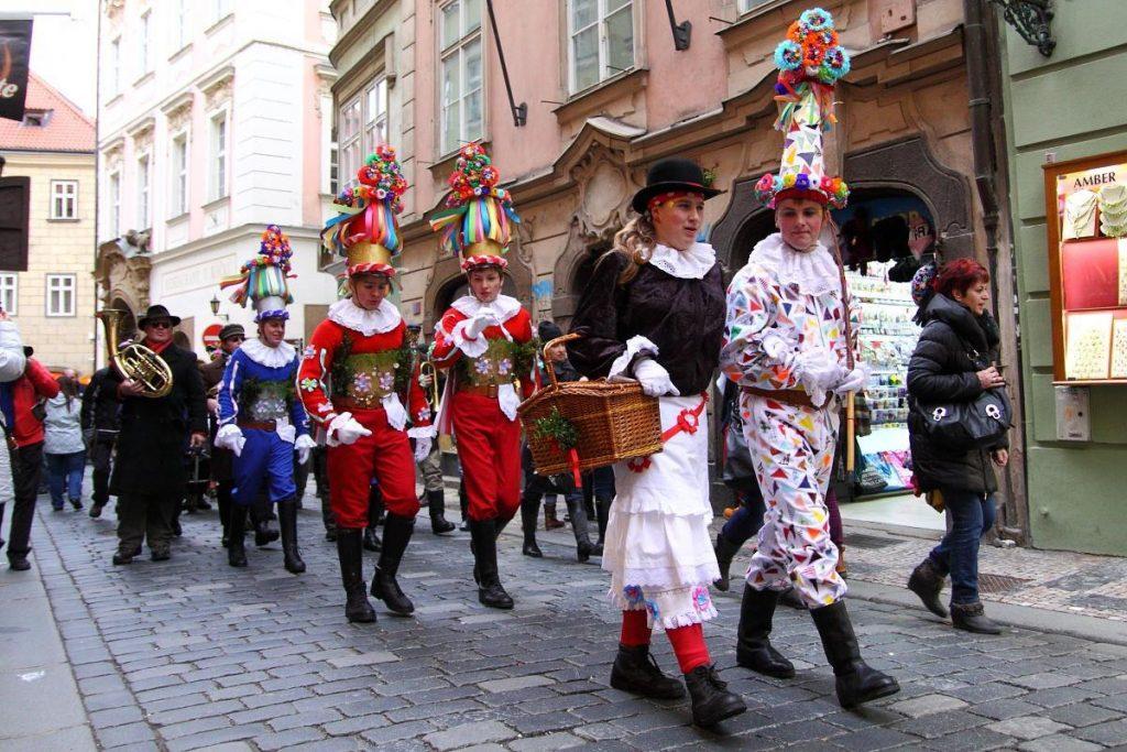 Масопут в Праге