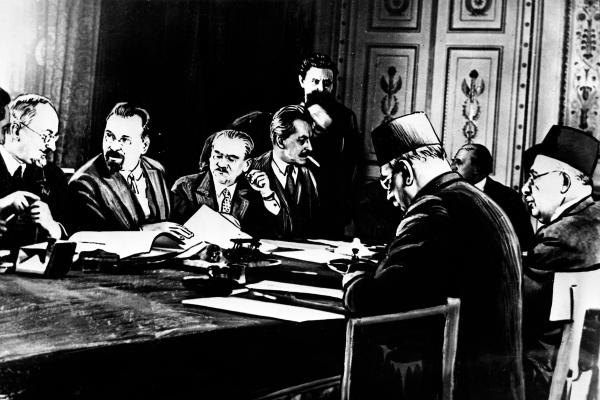 Август 1920 года. Визит правительственной делегации Турции в Россию. Переговоры о подготовке договора о «дружбе и братстве», РИА Новости