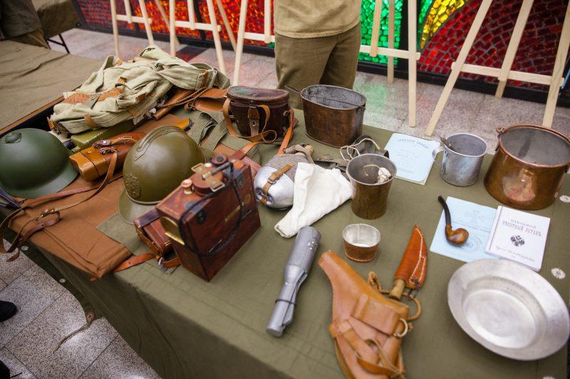 Найденные в Московской области реликвии времен войны представятв Музее Победы