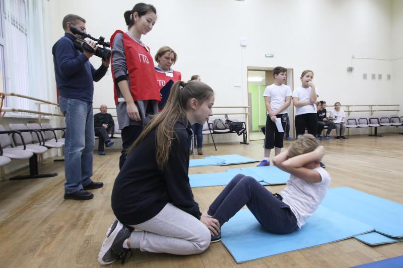 Сдача нормативов ГТО в Чертаново, ФОТО: Екатерина Якель