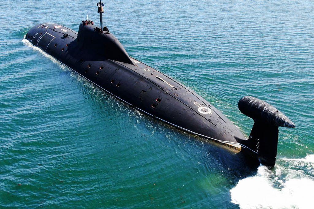 Атомная подводная лодка «Кузбасс»