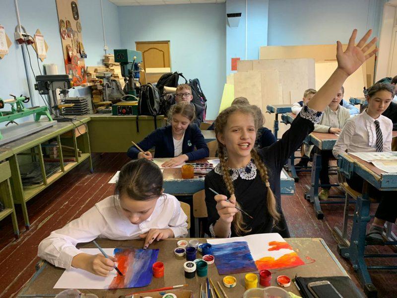 Творчество руками детей. Интегрированный урок по материалам публикации о Федоре Васильеве
