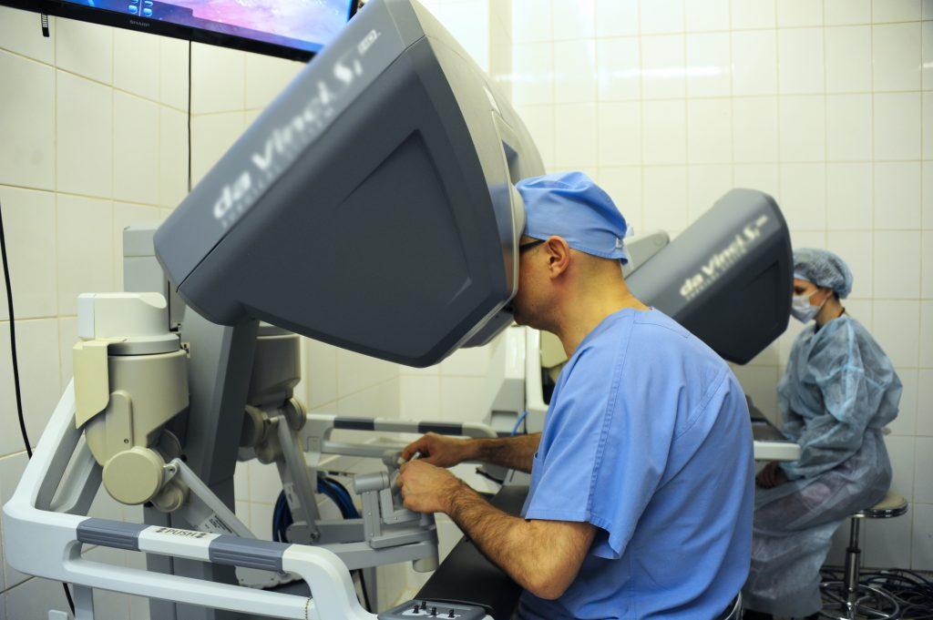 Так теперь выглядит операция на печени в Московском клиническом научном центре, ФОТО: Светлана Колоскова