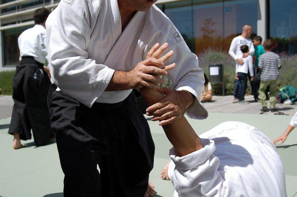 Сущность айкидо состоит в оборонительной тактике, применении болевых захватов и бросков при активном использовании биоэнергетических возможностей организма, pixabay.com