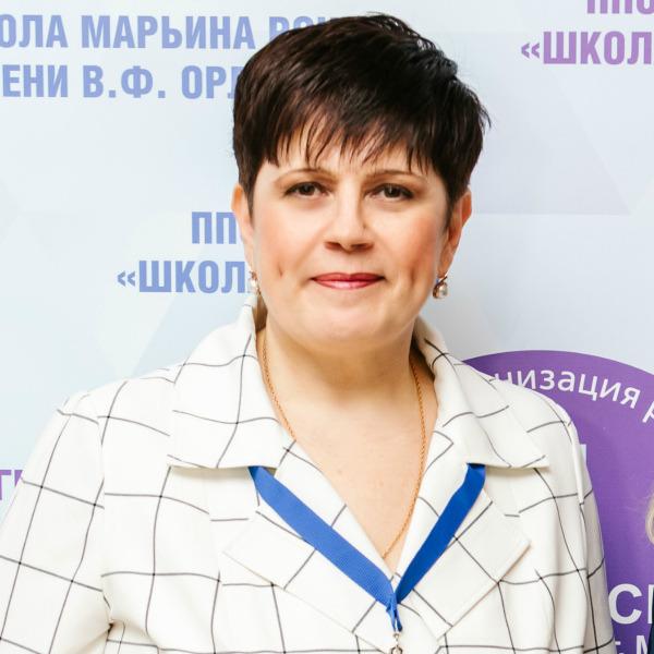 Ольга Полякова, почетный работник общего образования РФ