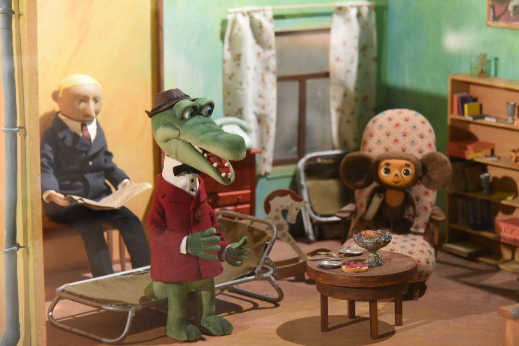 кадр из мультсериала «Крокодил Гена и Чебурашка»,