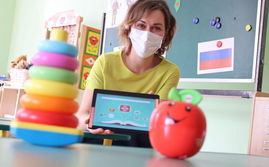 Воспитатель 2-й младшей группы детского сада школы № 2065 Мария Рахмангулова очень довольна новой информационной системой