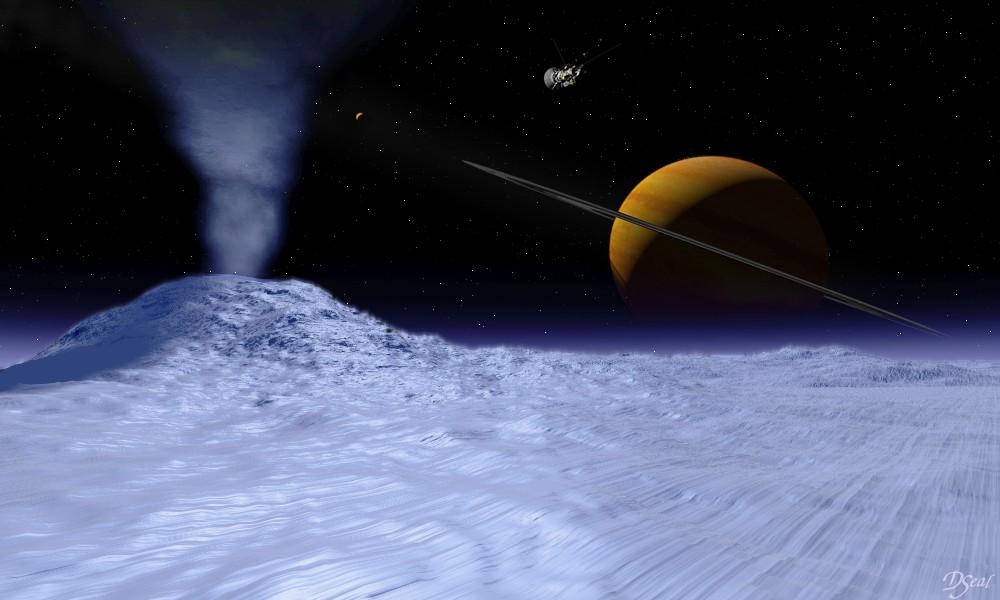 Южный полюс Энцелада