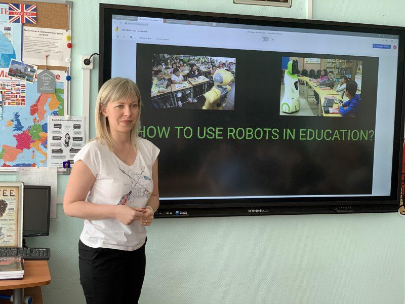 Human-teacher vs Robot-teacher. Газетная статья и battle-диспут на Уроке английского языка с газетой