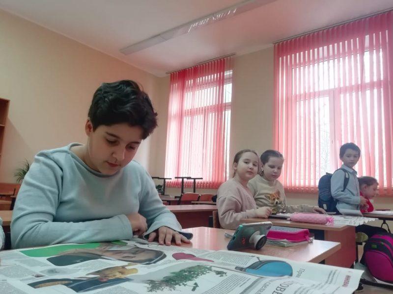 «Учиться, так у профессионалов!»  Проект «Пресса в образовании» помогает изучать азы журналистики